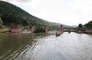 Schleuse und Staustufe von Neckargemünd