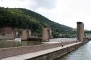 Staustufe von Neckargemünd