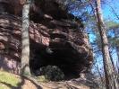Felsen in der Pfalz