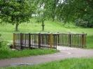 Holzbrücke über die Alb ( Grünwinkel )