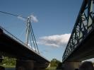 Rhein und Eisenbahnbrücke