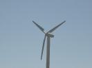 Windrad für die Stromerzeugung