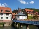 Wertheim mit Blick auf die Burg