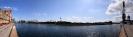 Panorama vom karlsruher Hafen