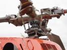 Rotorblätter eine Hubschraubers