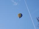 Heißluftballon mit Smiliesaufdruck