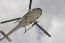 Hubschrauber am Himmel