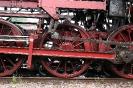 Antriebräder einer Dampflokomotive