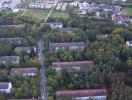 Luftbild von der Waldstadt - Karlsruhe