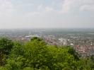 Blick auf Karlsruhe vom Turmberg