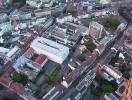 Luftbild von Karlsruhe Innenstadt