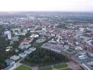 Luftbild von Karlsruhe